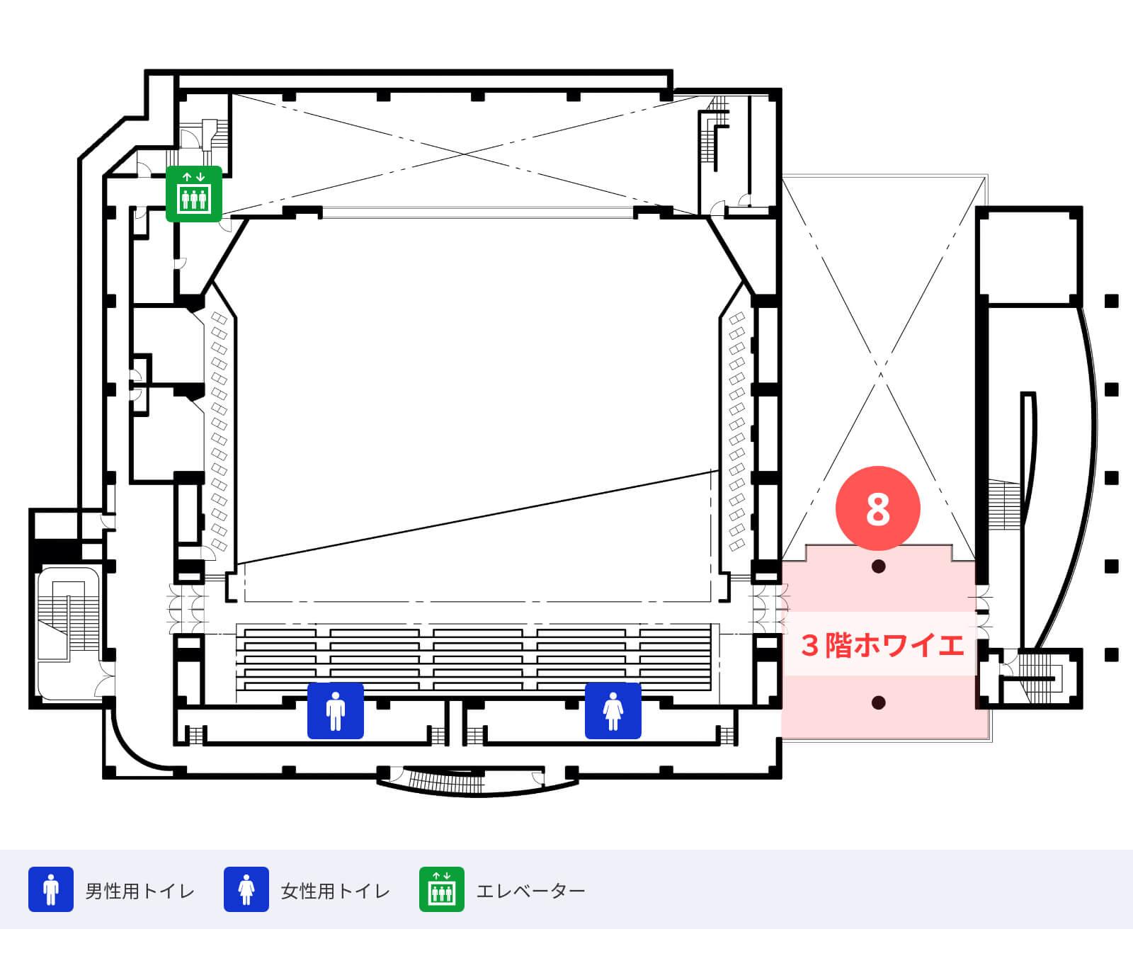 フロアマップ 2階