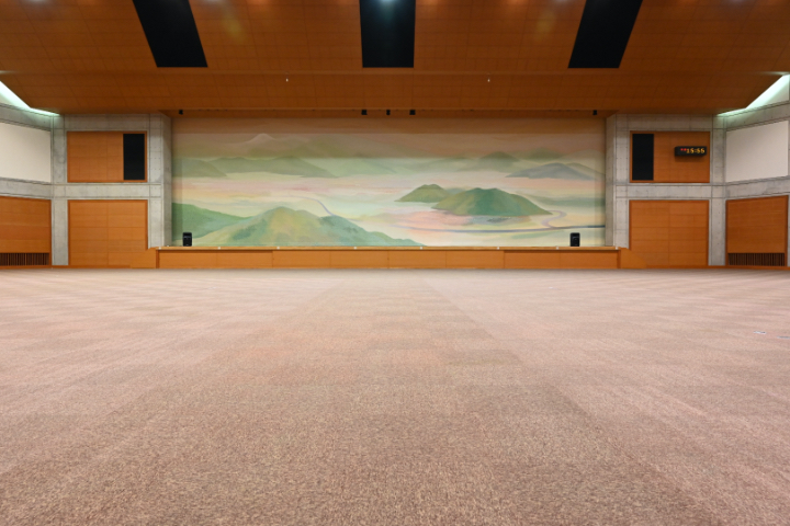 コンベンションホール(大ホール) 可動席なし